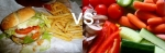 fastfood vs vegetables