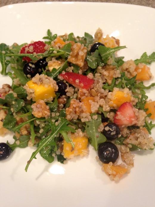 quinoa arugula citrus salad